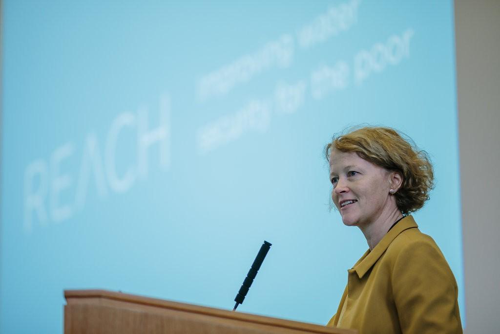 Professor Charlotte Watts, Chief Scientific Adviser, UK Department for International Development © REACH